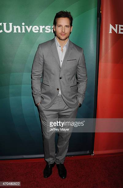 Actor Peter Facinelli attends the 2015 NBCUniversal Summer Press Day held at the The Langham Huntington Hotel and Spa on April 02 2015 in Pasadena...
