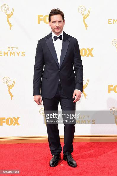 Actor Peter Facinelli attends the 67th Annual Primetime Emmy Awards at Microsoft Theater on September 20 2015 in Los Angeles California