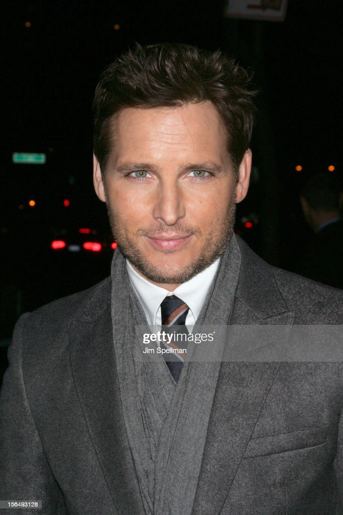Actor Peter Facinelli attends The Cinema Society with The Hollywood Reporter & Samsung Galaxy screening of 'The Twilight Saga: Breaking Dawn Part 2' on November 15, 2012 at the Landmark Sunshine Cinema in New York City.