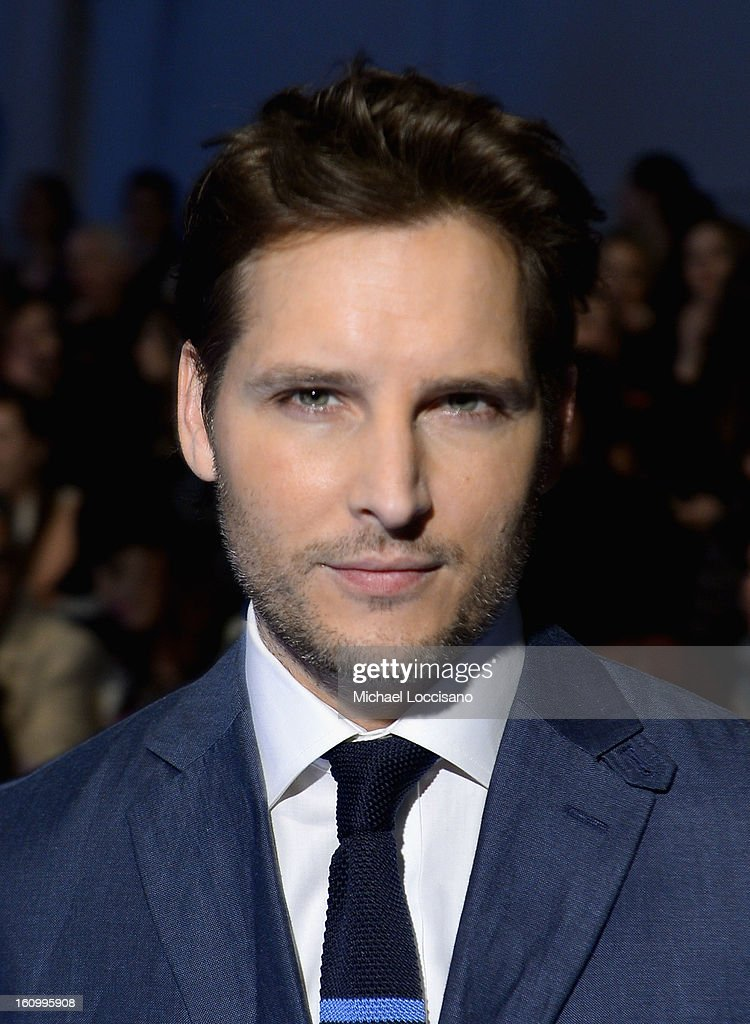 Actor <a gi-track='captionPersonalityLinkClicked' href=/galleries/search?phrase=Peter+Facinelli&family=editorial&specificpeople=233464 ng-click='$event.stopPropagation()'>Peter Facinelli</a> attends the Nautica Men's Fall 2013 fashion show during Mercedes-Benz Fashion Week at The Stage at Lincoln Center on February 8, 2013 in New York City.