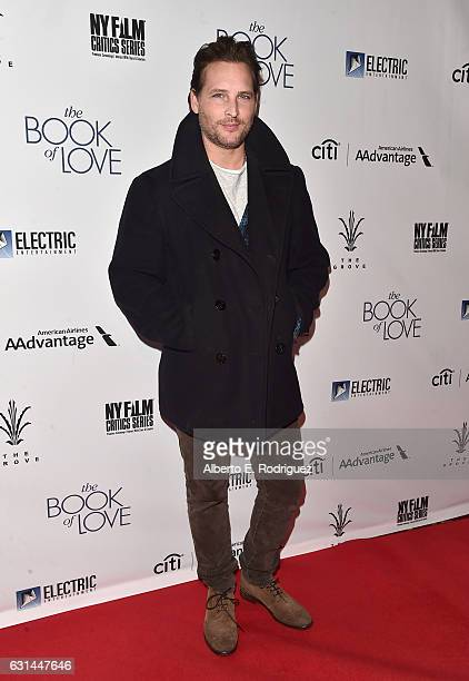 Actor Peter Facinelli attends the premiere of Electric Entertainment's 'The Book Of Love' at The Grove on January 10 2017 in Los Angeles California