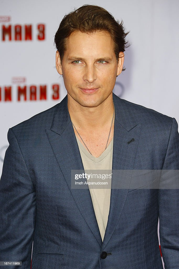 Actor <a gi-track='captionPersonalityLinkClicked' href=/galleries/search?phrase=Peter+Facinelli&family=editorial&specificpeople=233464 ng-click='$event.stopPropagation()'>Peter Facinelli</a> attends the premiere of Walt Disney Pictures' 'Iron Man 3' at the El Capitan Theatre on April 24, 2013 in Hollywood, California.