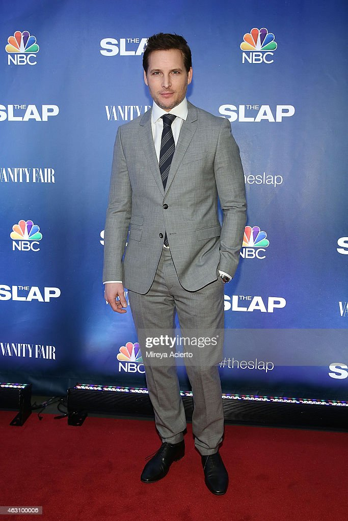 Actor Peter Facinelli attends 'The Slap' New York Premiere Party at The New Museum on February 9, 2015 in New York City.