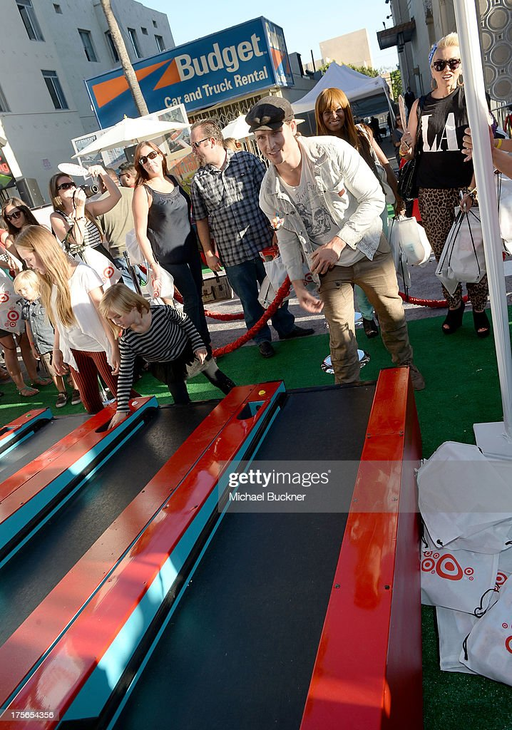 """Actor Peter Facinelli attends the world-premiere of """"Disney's Planes"""" presented by Target at the El Capitan Theatre on August 5, 2013 in Hollywood, California."""