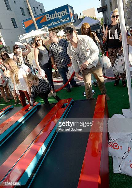"Actor Peter Facinelli attends the worldpremiere of ""Disney's Planes"" presented by Target at the El Capitan Theatre on August 5 2013 in Hollywood..."