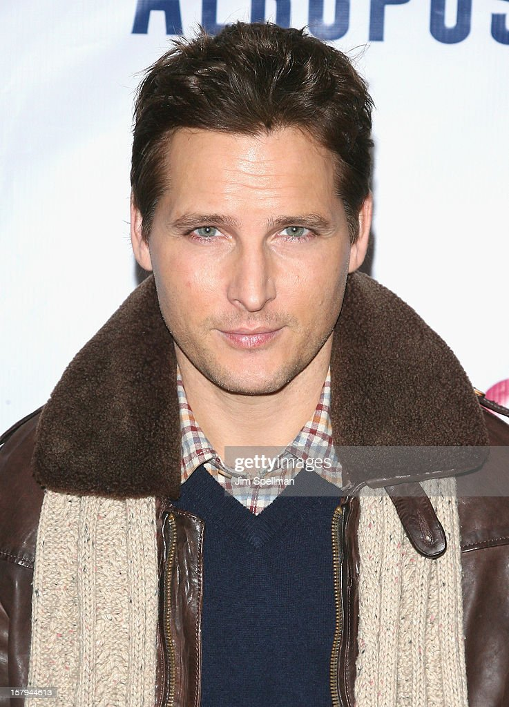 Actor Peter Facinelli attends Z100's Jingle Ball 2012, presented by Aeropostale, at Madison Square Garden on December 7, 2012 in New York City.