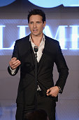 Actor Peter Facinelli speaks onstage at the 2013 GQ Gentlemen's Ball presented by BMW i Movado and Nautica at IAC Building on October 23 2013 in New...