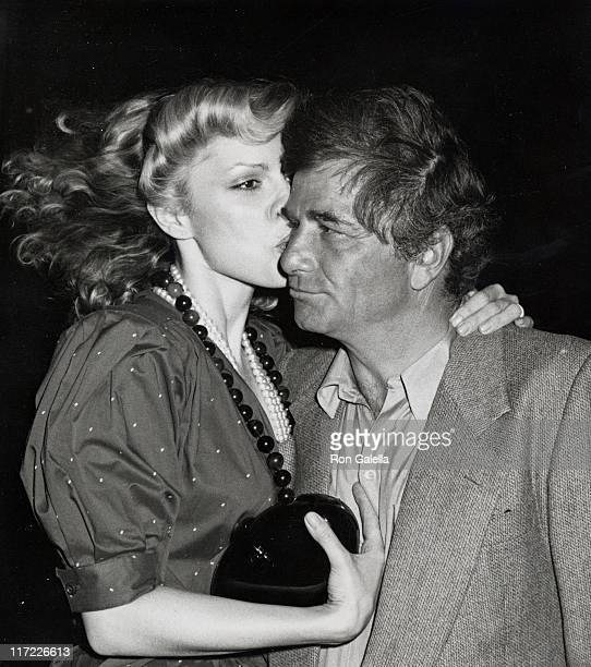 Actor Peter Falk and wife Shera Danese attend Swifty Lazar's Party for 51st Annual Academy Awards on April 9 1979 at Bistro Restaurant in Beverly...