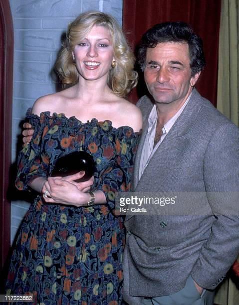 Actor Peter Falk and wife Shera Danese attend the 'Paradise Alley' Film WrapUp Party on February 11 1978 at Universal Studios in Universal City...