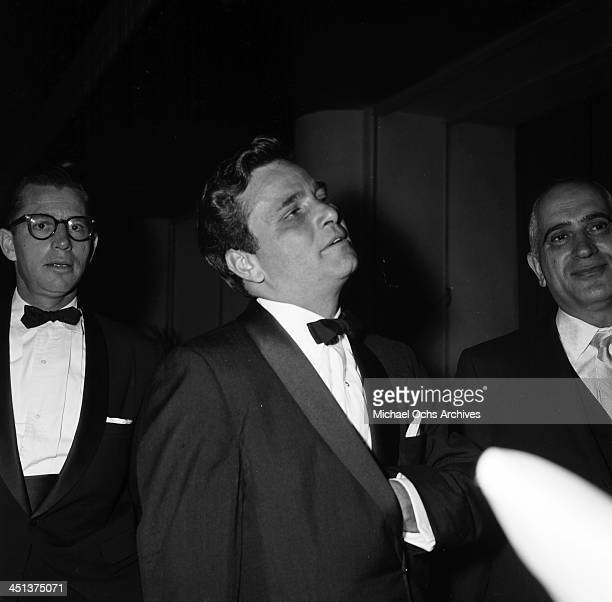 Actor Peter Falk attends a party in Los Angeles California