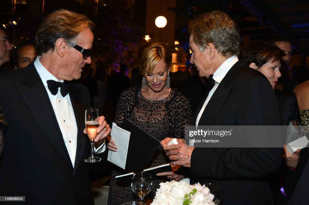Actor <a gi-track='captionPersonalityLinkClicked' href=/galleries/search?phrase=Peter+Fonda&family=editorial&specificpeople=213498 ng-click='$event.stopPropagation()'>Peter Fonda</a>, actress <a gi-track='captionPersonalityLinkClicked' href=/galleries/search?phrase=Melanie+Griffith&family=editorial&specificpeople=171682 ng-click='$event.stopPropagation()'>Melanie Griffith</a> and actor <a gi-track='captionPersonalityLinkClicked' href=/galleries/search?phrase=Warren+Beatty&family=editorial&specificpeople=201478 ng-click='$event.stopPropagation()'>Warren Beatty</a> attend the after party for the 40th AFI Life Achievement Award honoring Shirley MacLaine held at Sony Pictures Studios on June 7, 2012 in Culver City, California. The AFI Life Achievement Award tribute to Shirley MacLaine will premiere on TV Land on Saturday, June 24 at 9PM