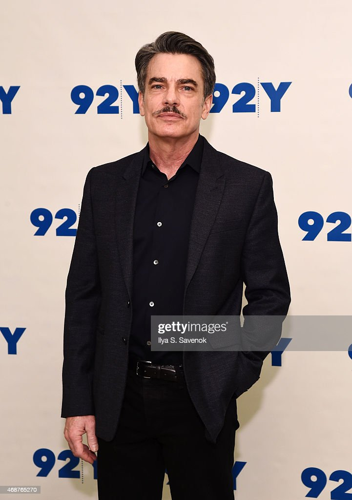 Actor Peter Gallagher attends 92nd Street Y Presents Back On Broadway Kristin Chenoweth And Peter Gallagher at 92nd Street Y on April 6 2015 in New...