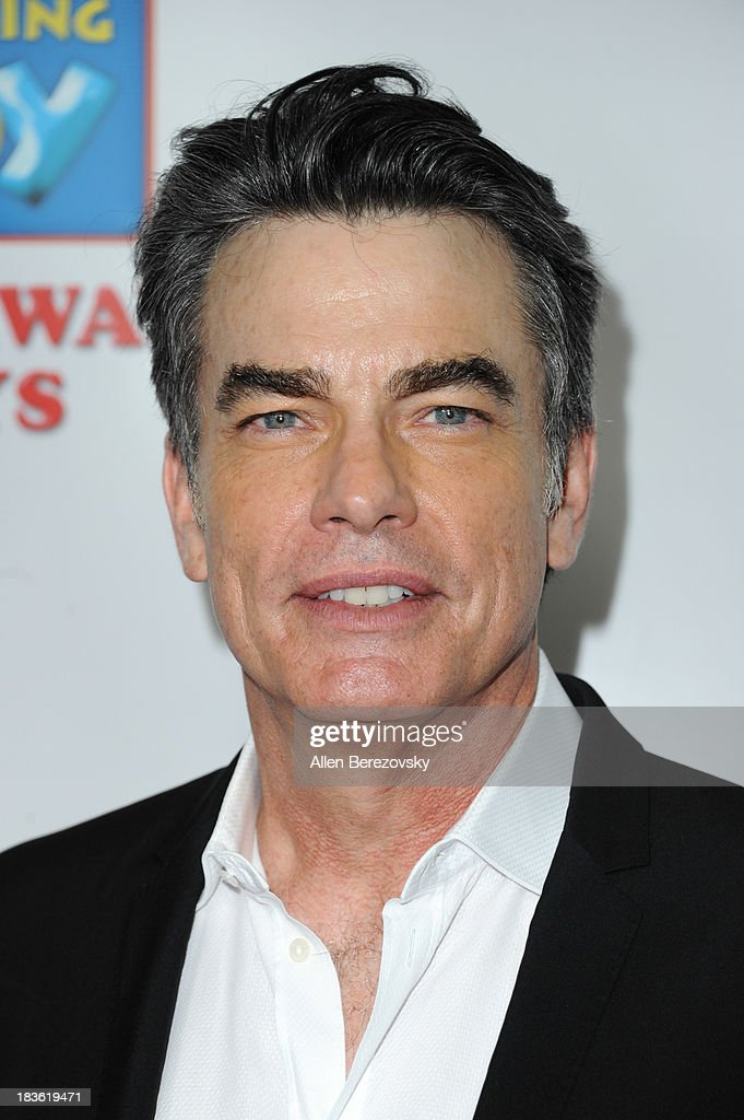 Actor <a gi-track='captionPersonalityLinkClicked' href=/galleries/search?phrase=Peter+Gallagher+-+Actor&family=editorial&specificpeople=171778 ng-click='$event.stopPropagation()'>Peter Gallagher</a> attends the 13th annual Les Girls benefiting the National Breast Cancer Coalition Fund at Avalon on October 7, 2013 in Hollywood, California.