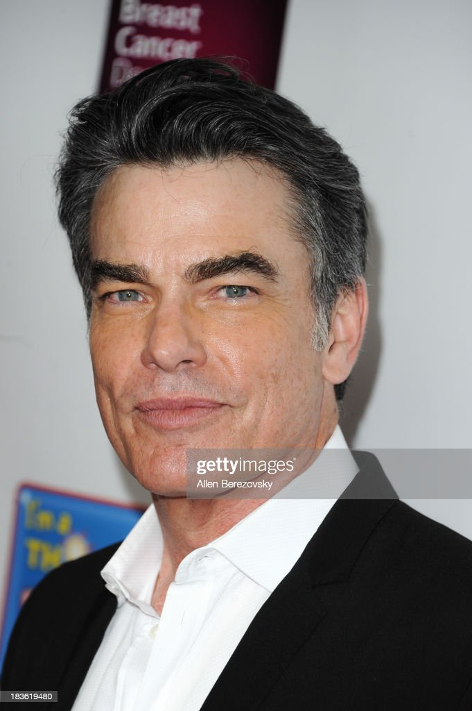 Actor Peter Gallagher attends the 13th annual Les Girls benefiting the National Breast Cancer Coalition Fund at Avalon on October 7 2013 in Hollywood...