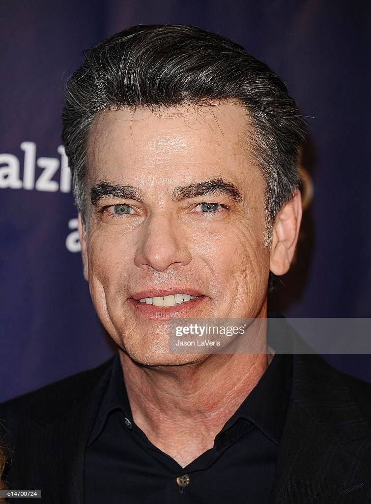 Actor Peter Gallagher attends the 2016 Alzheimer's Association's 'A Night At Sardi's' at The Beverly Hilton Hotel on March 9 2016 in Beverly Hills...