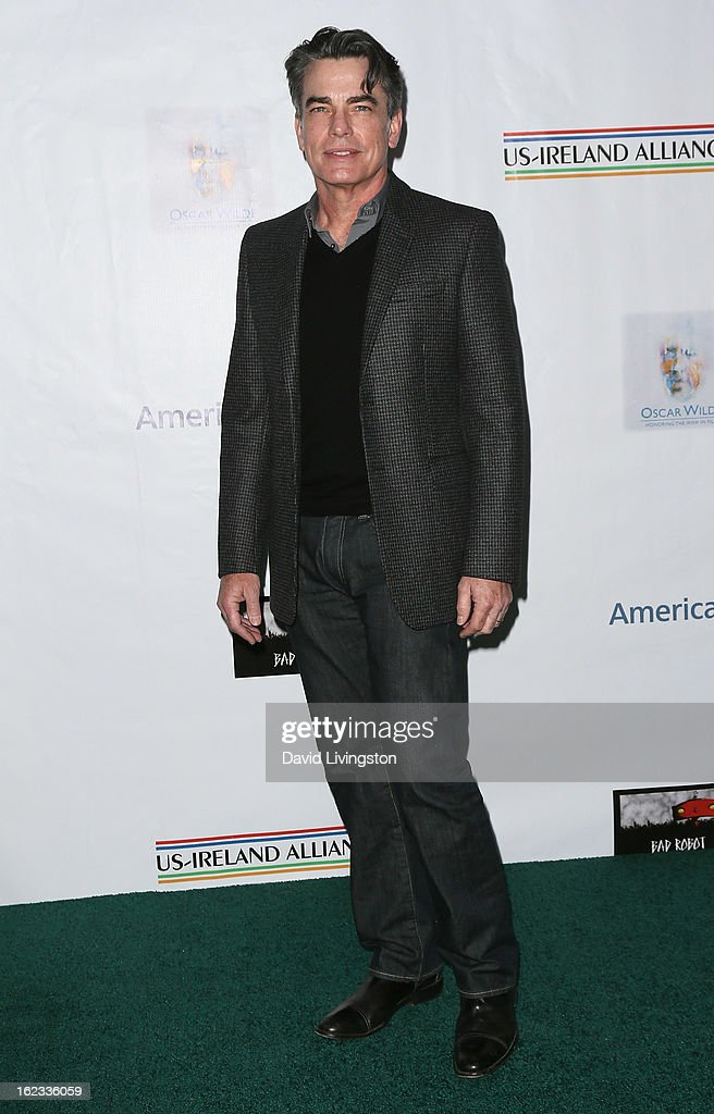 Actor Peter Gallagher attends the 8th Annual 'Oscar Wilde: Honoring The Irish In Film' Pre-Academy Awards Event at Bad Robot on February 21, 2013 in Santa Monica, California.