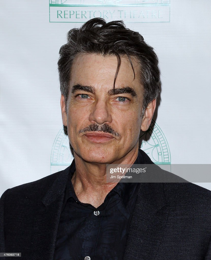 Actor Peter Gallagher attends the Irish Repertory Theatre's