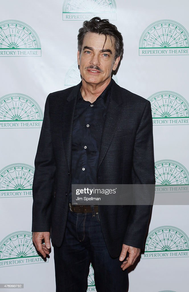 Actor Peter Gallagher attends the Irish Repertory Theatre's YEATS The Celebration at Town Hall on June 8 2015 in New York City