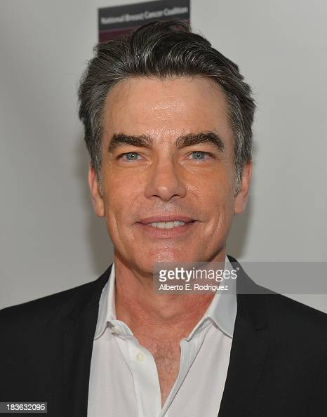 Actor Peter Gallagher attends The National Breast Cancer Coalition Fund presents The 13th Annual Les Girls at the Avalon on October 7 2013 in...