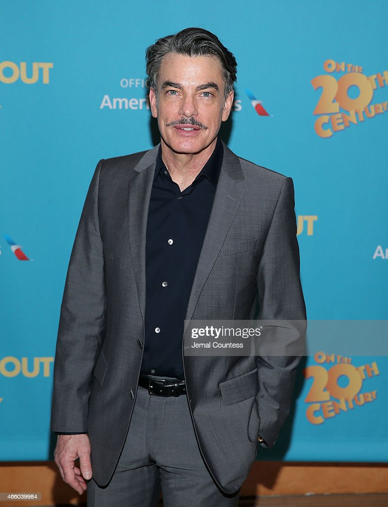 Actor Peter Gallagher attends the opening night performance of 'On The Twentieth Century' at American Airlines Theatre on March 12 2015 in New York...