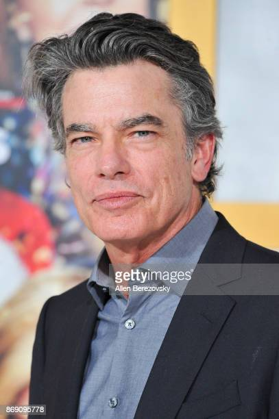 Actor Peter Gallagher attends the premiere of STX Entertainment's 'A Bad Moms Christmas' at Regency Village Theatre on October 30 2017 in Westwood...