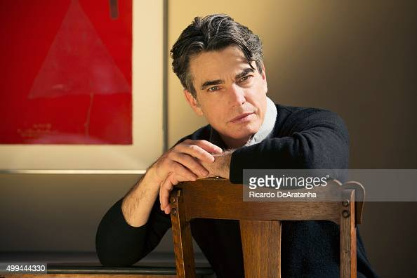 Actor Peter Gallagher is photographed in his home for Los Angeles Times on February 3 2014 in Brentwood California PUBLISHED IMAGE CREDIT MUST READ...