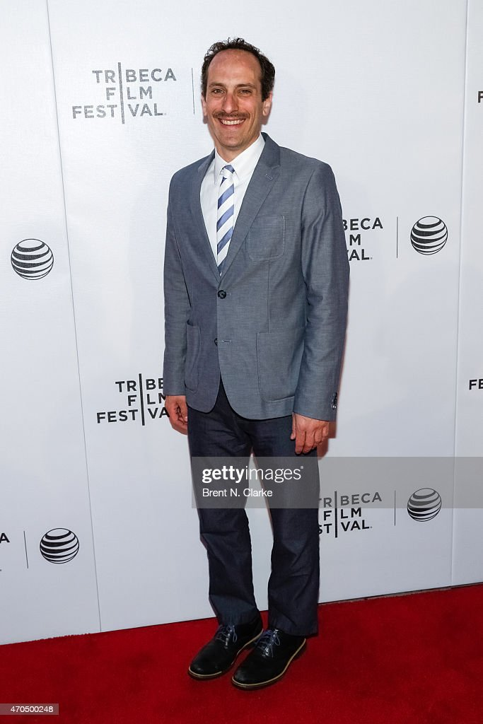Actor Peter Grosz arrives for the World Premiere Narrative: 'Slow Learners' during the 2015 Tribeca Film Festival held at Regal Battery Park 11 on April 20, 2015 in New York City.