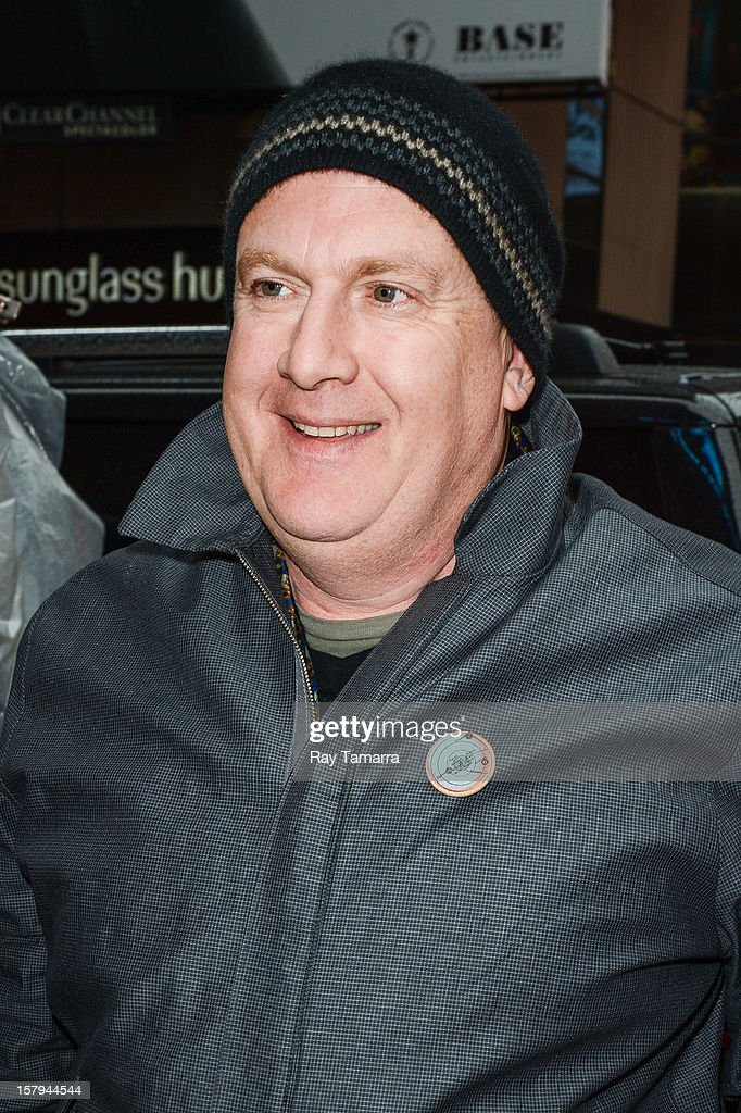 Actor Peter Hambleton enters the 'Big Morning Buzz' taping at the VH1 Studios on December 7, 2012 in New York City.