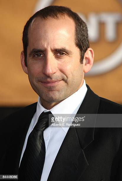 Actor Peter Jacobson arrives at the 15th Annual Screen Actors Guild Awards held at the Shrine Auditorium on January 25 2009 in Los Angeles California