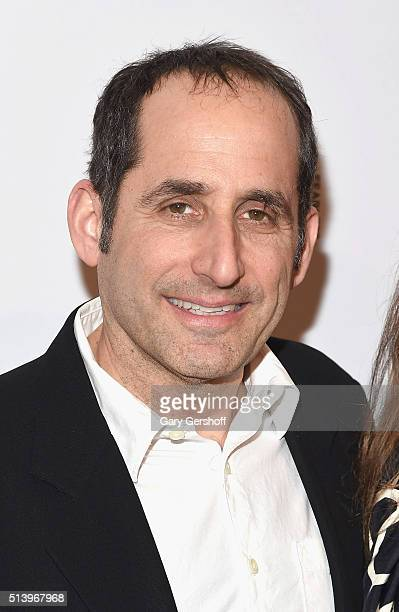 Actor Peter Jacobson attends 'The Americans' Season 4 premiere at NYU Skirball Center on March 5 2016 in New York City