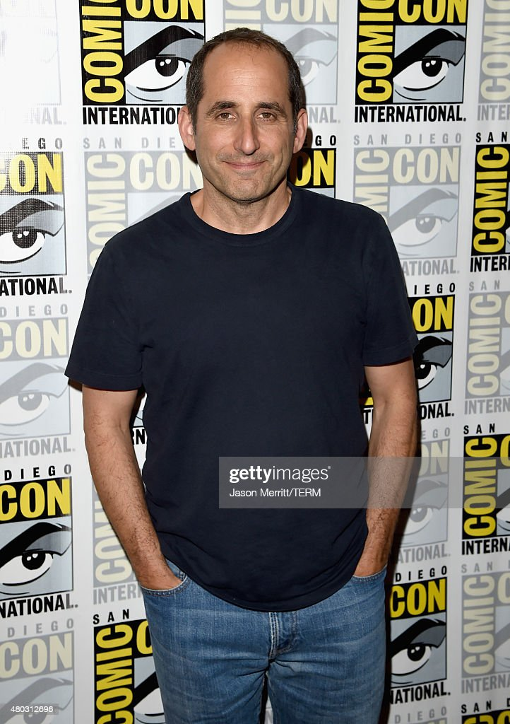 Actor Peter Jacobson attends the 'Colony' press room during Comic-Con International 2015 at the Hilton Bayfront on July 10, 2015 in San Diego, California.