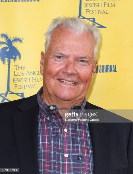 Actor Peter Jason attends Los Angeles Jewish Film Festival opening night premiere of 'My Friend Ed' at Laemmle's Ahrya Fine Arts Theatre on April 26...