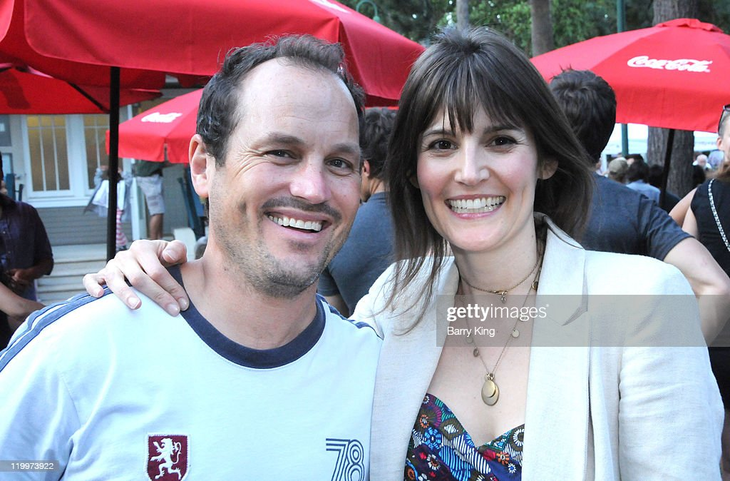 Actor Peter Low and Karen Krantz attend the Los Angeles Philharmonic and Venice Magazine's 11th Annual Hollywood Bowl Pre-Concert Picnic held at Camrose Picnic area on July 26, 2011 in Hollywood, California.