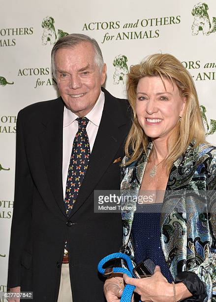 Actor Peter Marshall and Laurie Marshall attend Actors And Others For Animals' Joy To The Animals luncheon fundraiser at Universal City Hilton Towers...