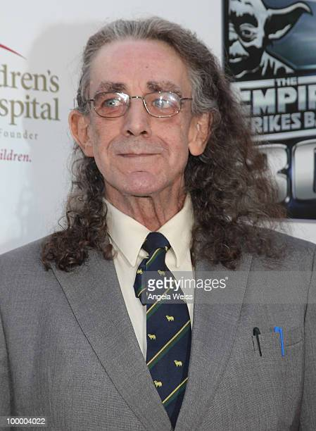 Actor Peter Mayhew arrives at St Jude's 30th anniversary screening of 'The Empire Strikes Back' at Arclight Cinema on May 19 2010 in Los Angeles...