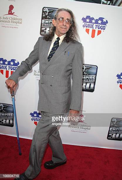 Actor Peter Mayhew arrives to St Jude's 30th anniversary screening of 'The Empire Strikes Back' at Arclight Cinema on May 19 2010 in Los Angeles...