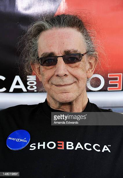 Actor Peter Mayhew attends Course of The Force Inaugural 'Star Wars' Lightsaber Relay at Santa Monica Pier on July 7 2012 in Santa Monica California