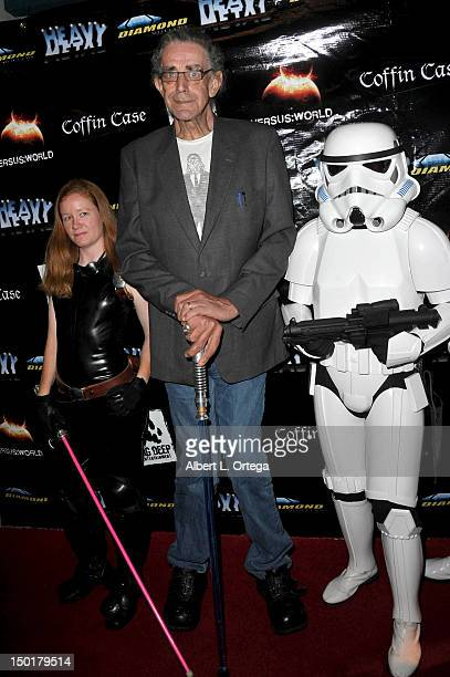 Actor Peter Mayhew attends Heavy Metal Magazine's 35th Anniversary Party ComicCon International 2012 held at The Haunted Hotel on July 12 2012 in San...