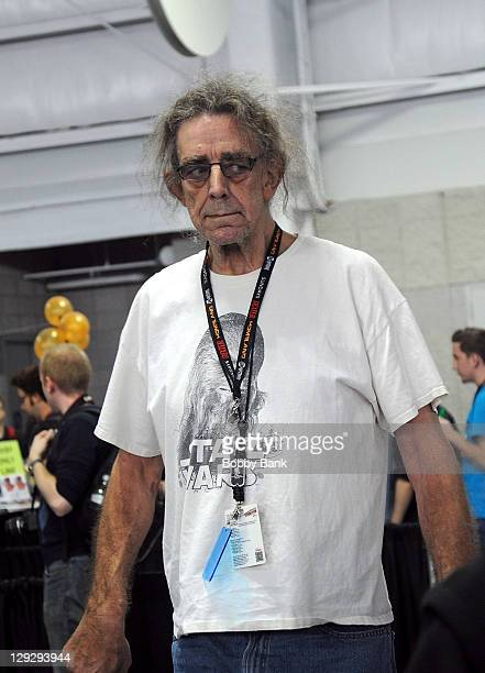 Actor Peter Mayhew attends New York Comic Con 2011 at the Jacob Javits Center on October 15 2011 in New York City