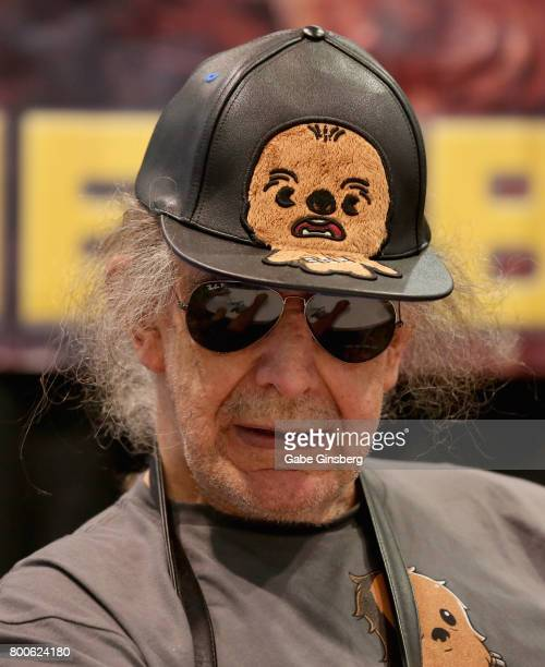 Actor Peter Mayhew attends the Amazing Las Vegas Comic Con at the Las Vegas Convention Center on June 24 2017 in Las Vegas Nevada