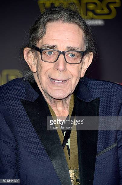 Actor Peter Mayhew attends the premiere of Walt Disney Pictures and Lucasfilm's 'Star Wars The Force Awakens' at the Dolby Theatre on December 14th...