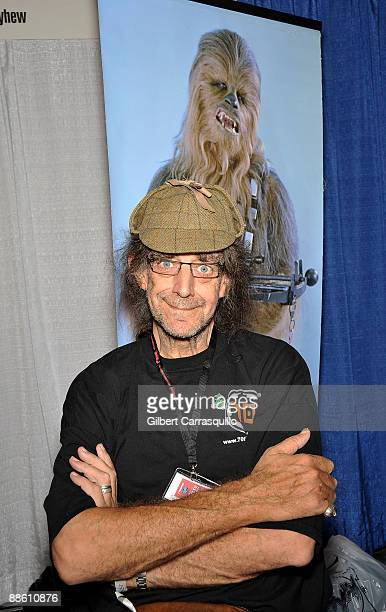 Actor Peter Mayhew attends the Wizard World convention at the Pennsylvania Convention Center on June 21 2009 in Philadelphia Pennsylvania