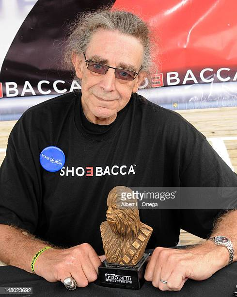 Actor Peter Mayhew participates in The Inaugural 'Course Of The Force' Olympic Relay Run with lightsabers to Benefit The MakeAWish Foundation hosted...