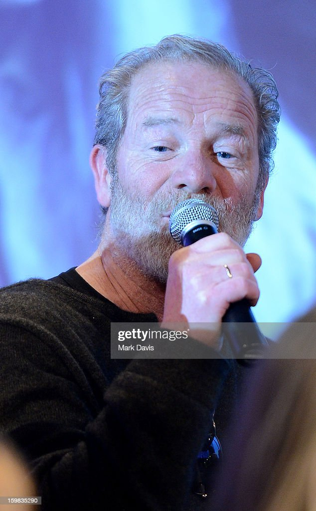 Actor Peter Mullan attends the press conference for Sundance Channel original series 'Top of the Lake' on January 21, 2013 in Park City, Utah.