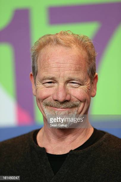 Actor Peter Mullan attends the 'Top Of The Lake' Press Conference during the 63rd Berlinale International Film Festival at the Grand Hyatt Hotel on...