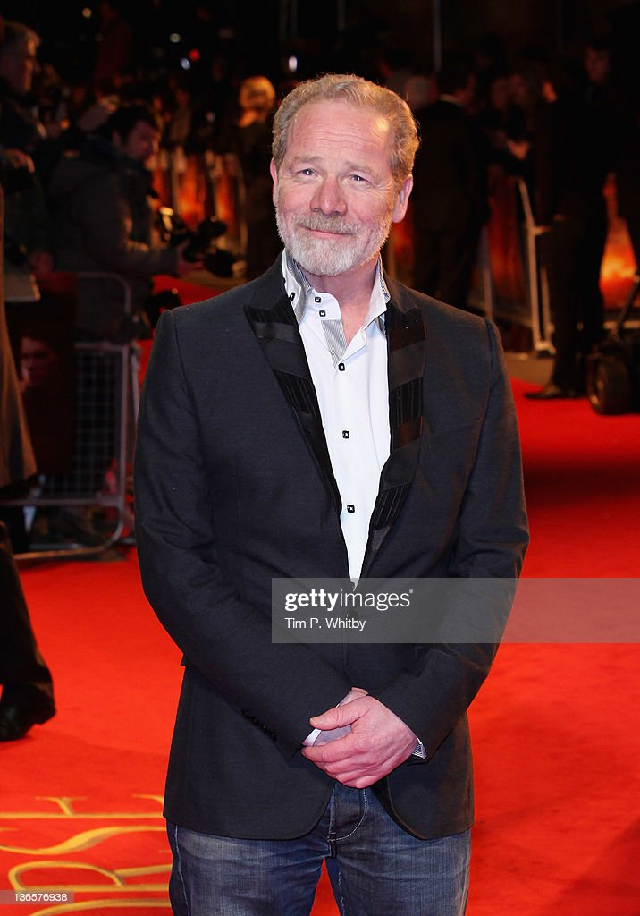 Actor Peter Mullan attends the UK premiere of War Horse at Odeon Leicester Square on January 8, 2012 in London, England.