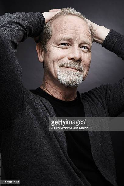 Actor Peter Mullan is photographed for Paris Match on April 22 2013 in Paris France