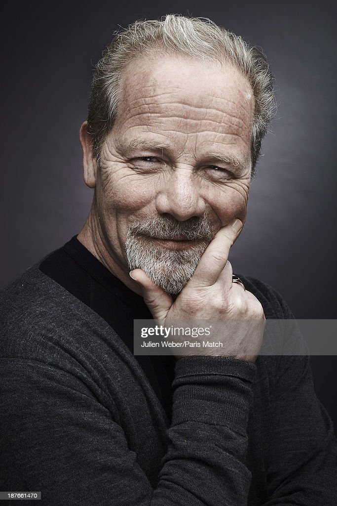 Actor Peter Mullan is photographed for Paris Match on April 22, 2013 in Paris, France.