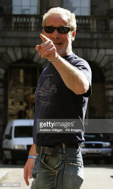 Actor Peter Mullan outside the Court of Session in Edinburgh where he is lending his support to the Sheridan family for the ongoing 200000 defamation...