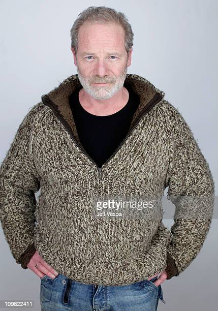 Actor Peter Mullan poses for a portrait during the 2011 Sundance Film Festival at the WireImage Portrait Studio at The Samsung Galaxy Tab Lift on...